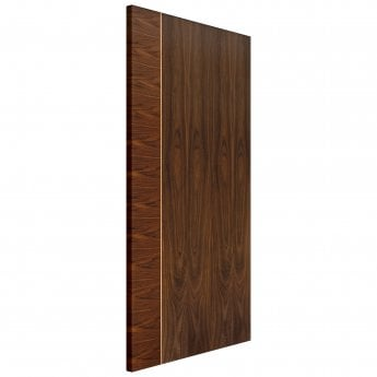 JB Kind Internal Pre-Finished Flush Walnut Mayette FD30 Fire Door