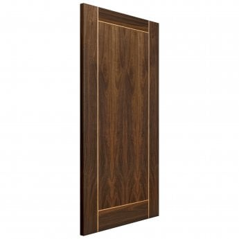 JB Kind Internal Pre-Finished Flush Walnut Vina FD30 Fire Door