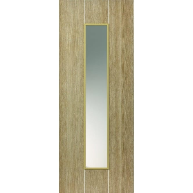 JB Kind Internal Pre-Finished Natural Nuance Arabica Door With Clear Glass