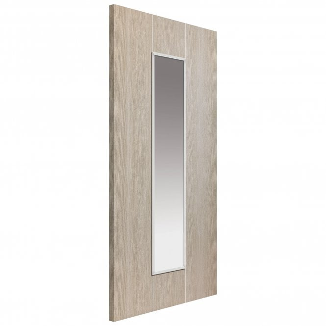 JB Kind Internal Pre-Finished Natural Nuance Viridis Door With Clear Glass