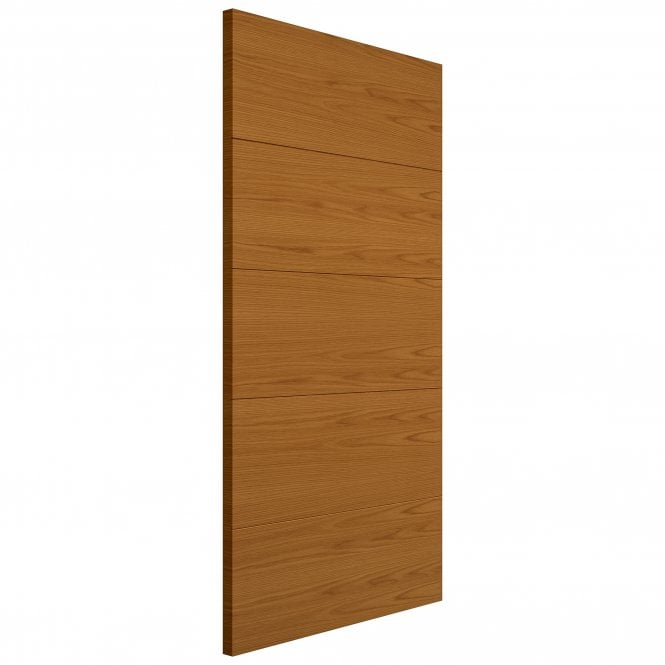 JB Kind Internal Pre-Finished Royale Modern Oak Vt5 FD30 Fire Door
