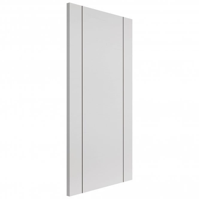 JB Kind Internal Pre-Finished White Eco Parelo FD30 Fire Door