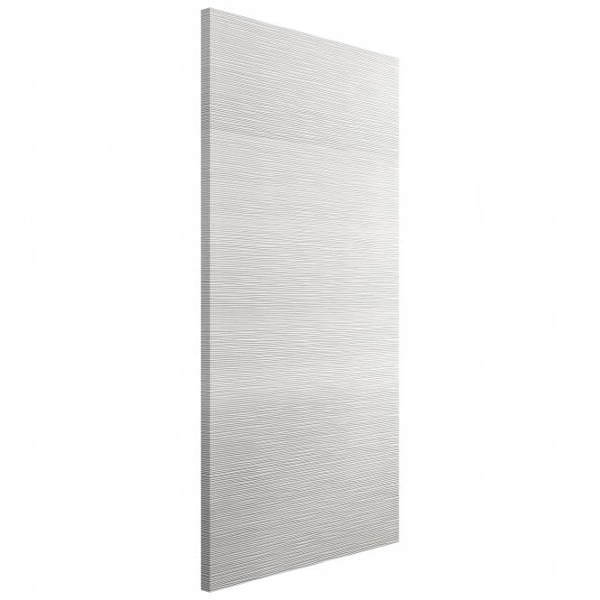 JB Kind Internal White Moulded Ripple FD30 Fire Door
