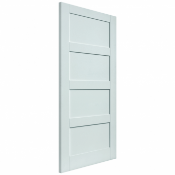 JB Kind Internal White Primed Calypso Montserrat FD30 Fire Door