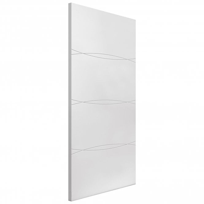 JB Kind Internal White Primed Contemporary Aster FD30 Fire Door