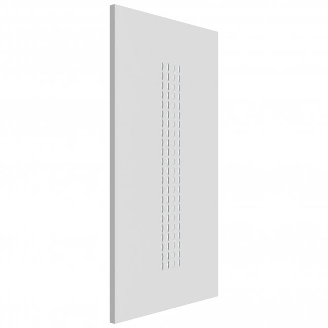 JB Kind Internal White Primed Contemporary Criterion FD30 Fire Door
