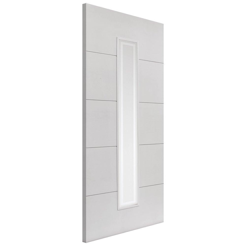 jb kind internal white primed dominion glazed door. Black Bedroom Furniture Sets. Home Design Ideas