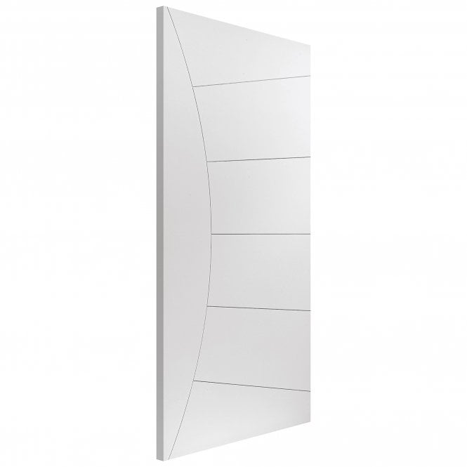 JB Kind Internal White Primed Contemporary Elektra FD30 Fire Door