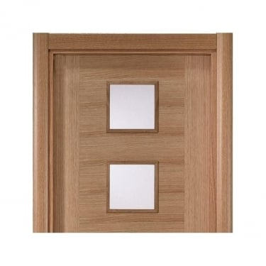 Oak Veneered Modern Architrave Set (OCLRA70)