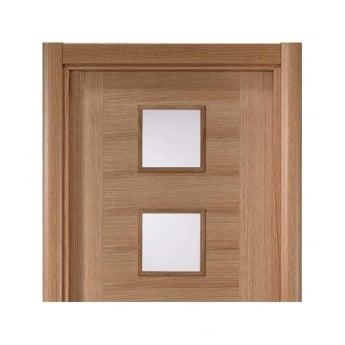 JB Kind Oak Veneered Modern Architrave Set