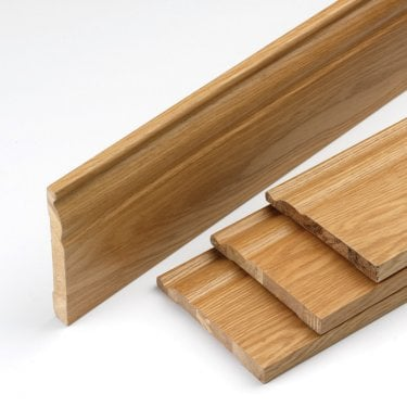 Oak Veneered Skirting Set (OSK144)