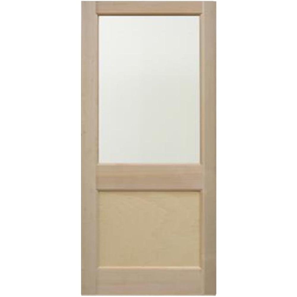 External Hemlock Unfinished E2XG 1L Unglazed Door  sc 1 st  Leader Doors & Jeld-Wen External Hemlock Unfinished E2XG Unglazed Door | Leader Doors