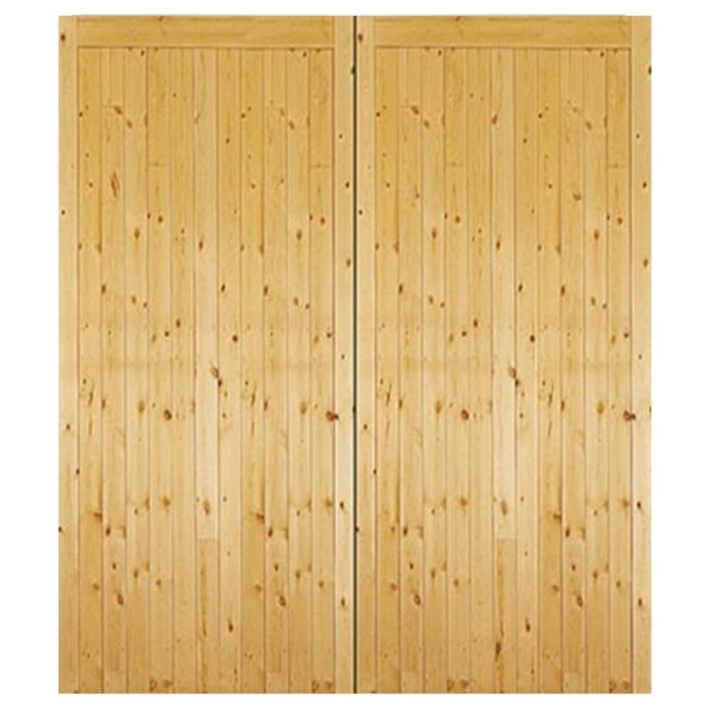 Jeld Wen External Timber Side Hung Gtg Garage Door Luxury Doors