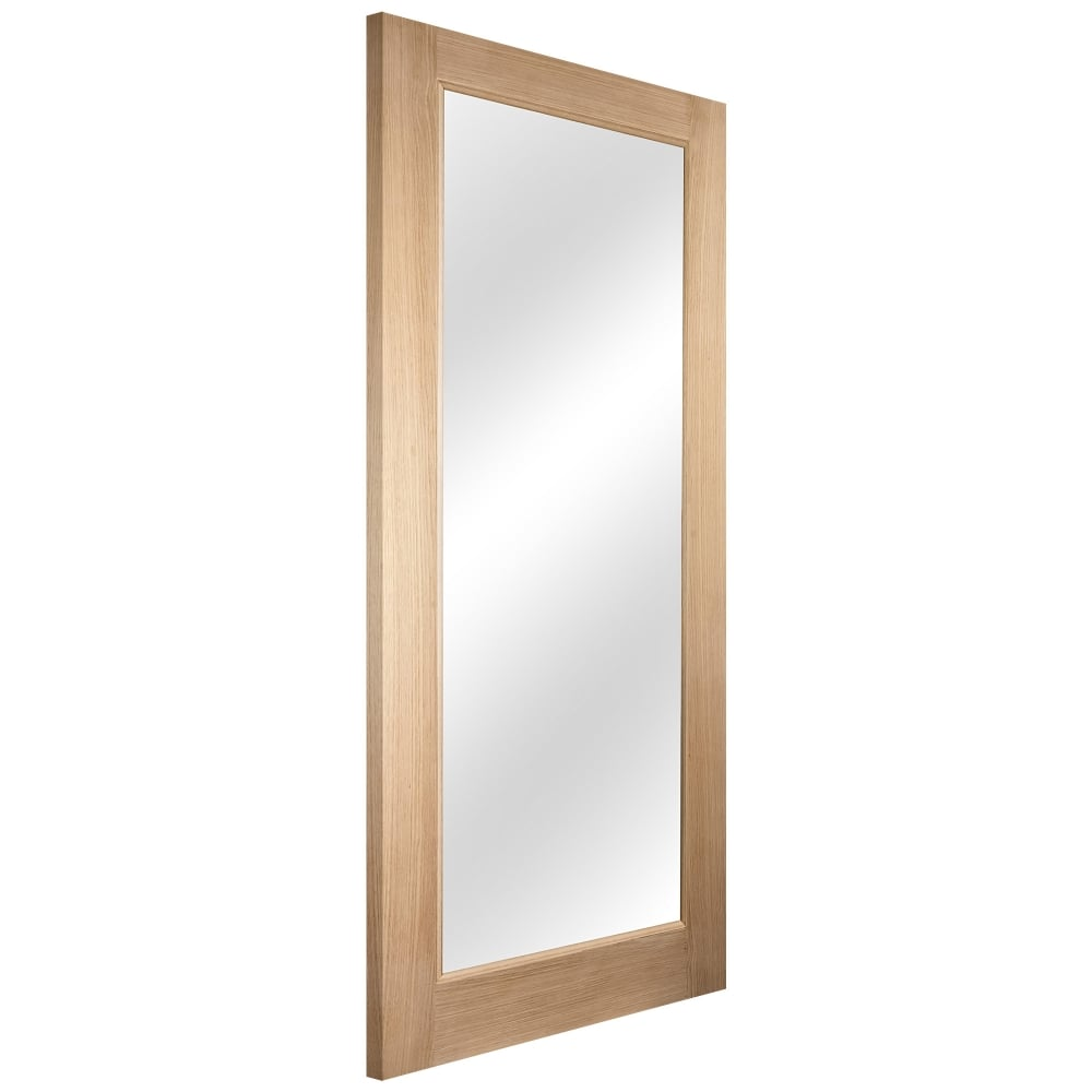 Jeld-Wen External White Oak Knightsbridge Lumina 1 Light Clear Glass ...