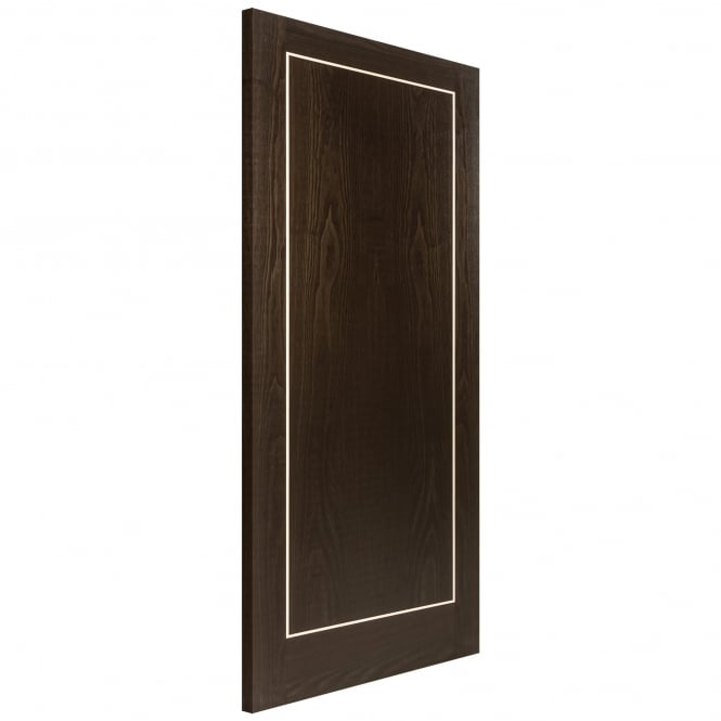 Jeld-Wen Internal Brown Ash Fully Finished Inlay Heavyweight 44mm FD30 Fire Door