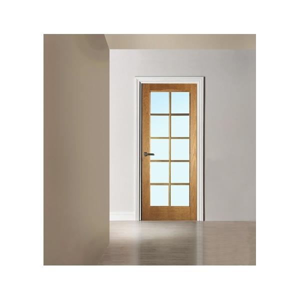 Jeld wen internal un finished oak huntington 10 light for 10 light door