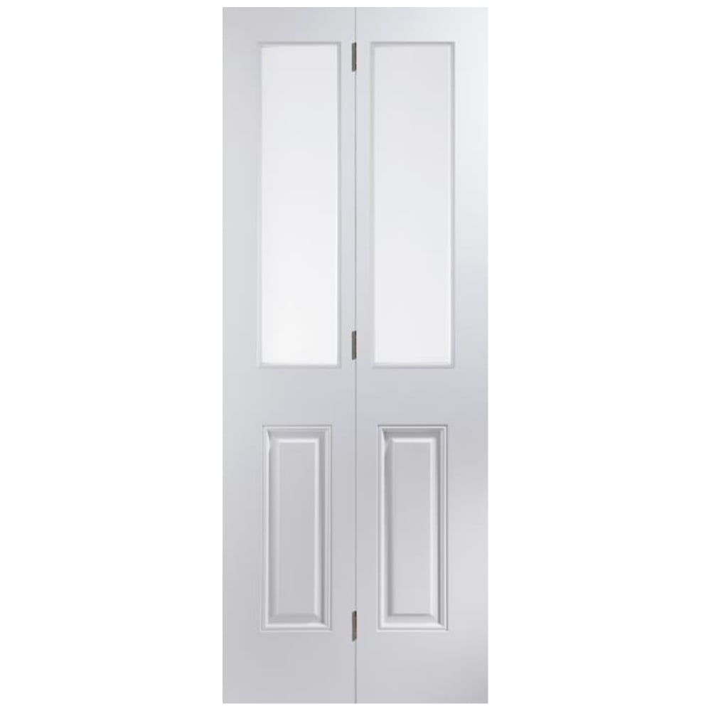 Jeld Wen Internal White Moulded Arlington 2l Bi Fold Door