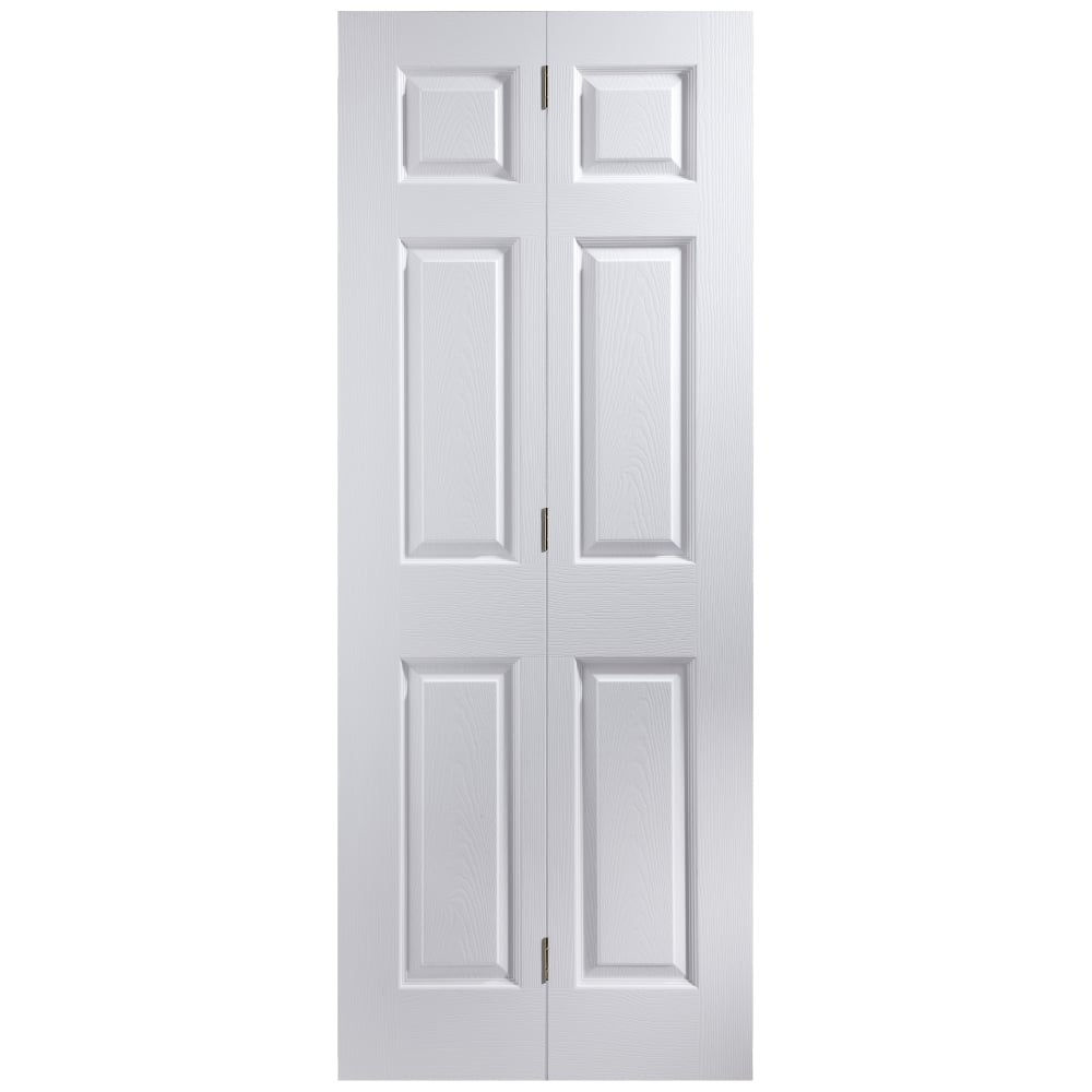 Jeld Wen Internal White Moulded Bostonian Bi Fold Door Leader Doors