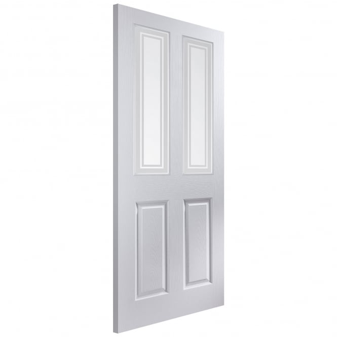 Internal White Moulded Bostonian/Oakfield Marginal Bar Glass Door