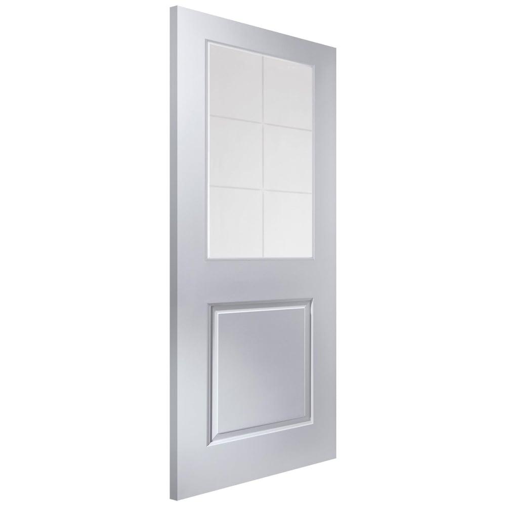 Jeld Wen Internal White Moulded Cambridge 6l Door With