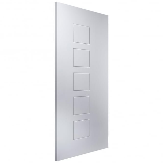 Internal White Moulded Cube 44mm Fire Door