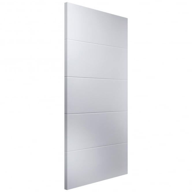Internal White Moulded Linea 54mm Fire Door