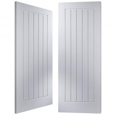 Internal White Moulded Newark Pair Door