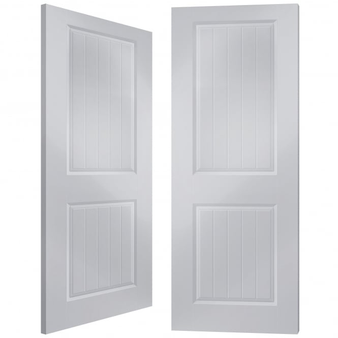 Jeld-Wen Internal White Moulded Newbridge Pair Door