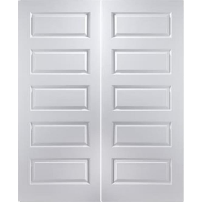 Jeld-Wen Internal White Moulded Rockport Pair Door