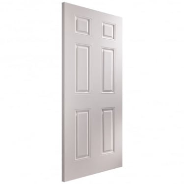 Internal White Moulded Unfinished Arlington Door