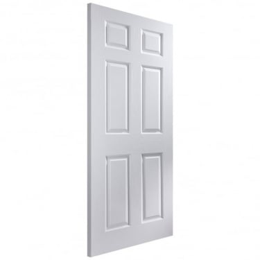 Internal White Moulded Unfinished Bostonian Middleweight Door
