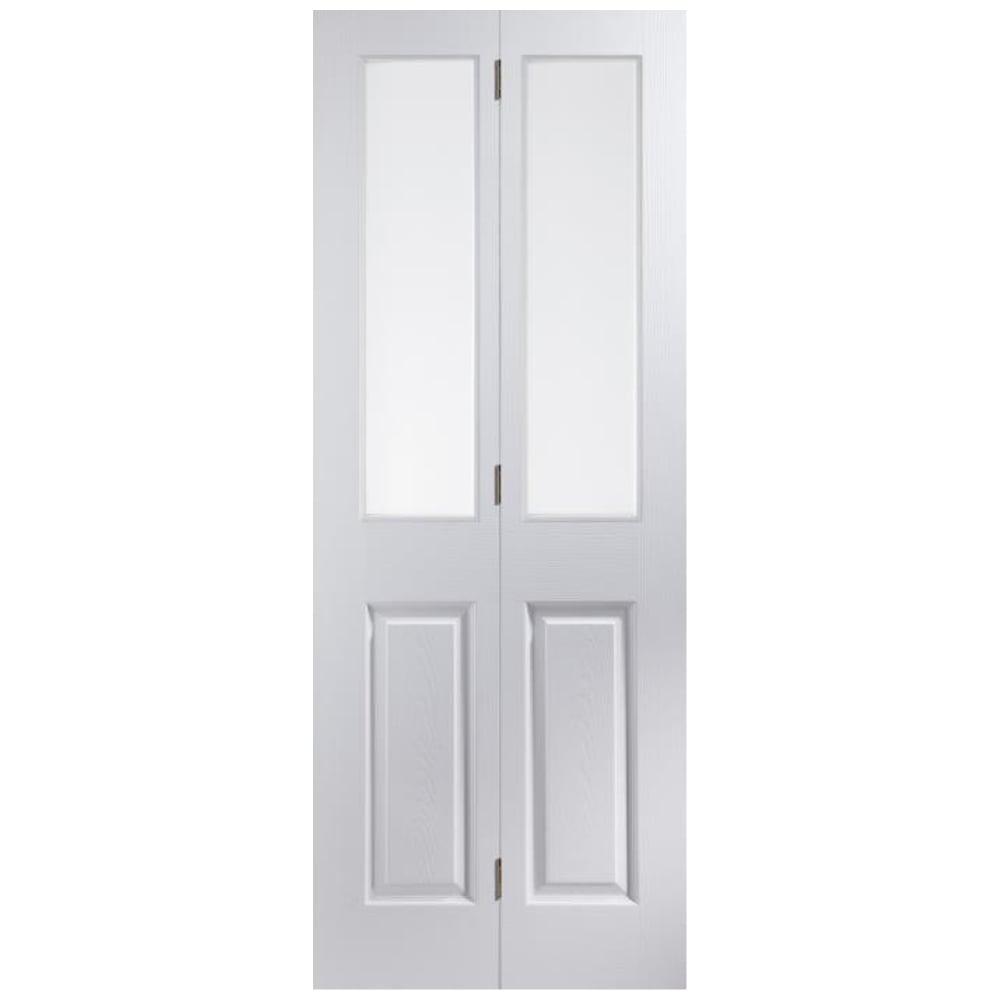 Jeld-Wen Internal White Moulded Unfinished Bostonian Oakfield Glazed ...