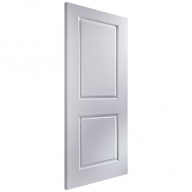 Internal White Moulded Unfinished Cambridge FD30 Fire Door