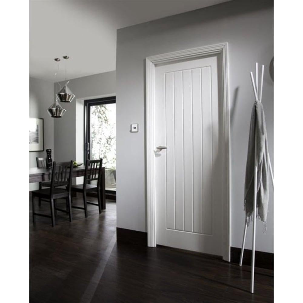 Internal White Moulded Unfinished Newark Door  sc 1 st  Leader Doors & Jeld-Wen Internal White Moulded Unfinished Newark Door | Leader Doors