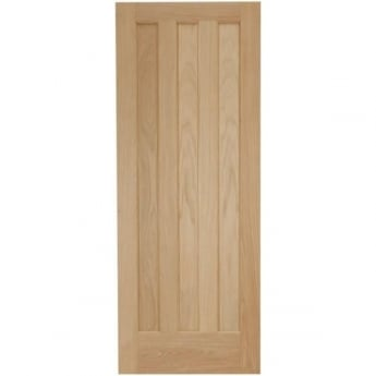 Jeld-Wen Internal White Oak Aston 3 Panel 44mm Fire Door