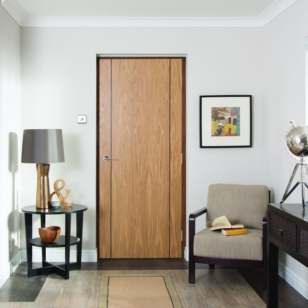 Internal White Oak Inlay Heavyweight Panel Door. Interior Doors. White Interior  Doors Jeldwen ...