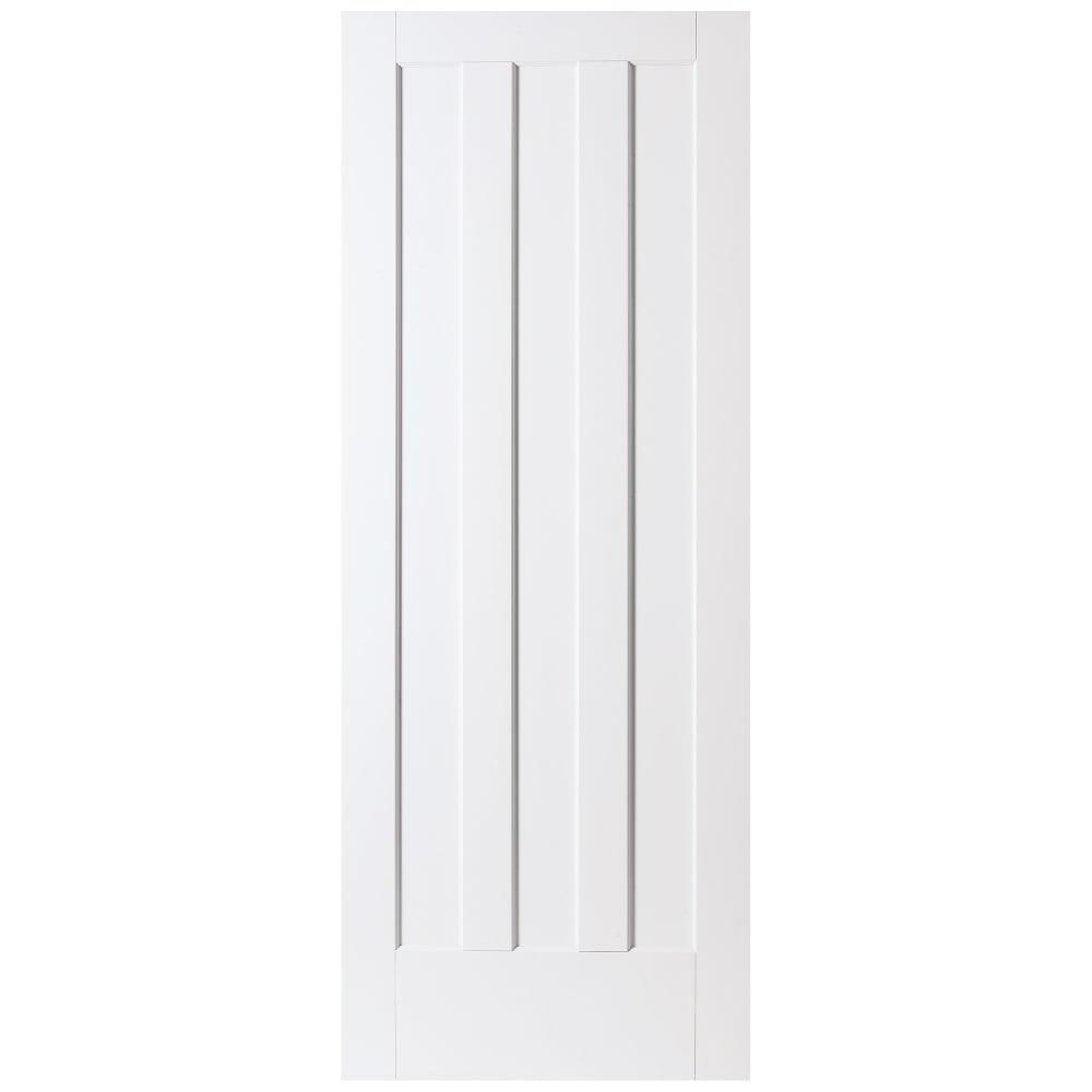 Jeld Wen Aston White Primed Panelled Internal Door