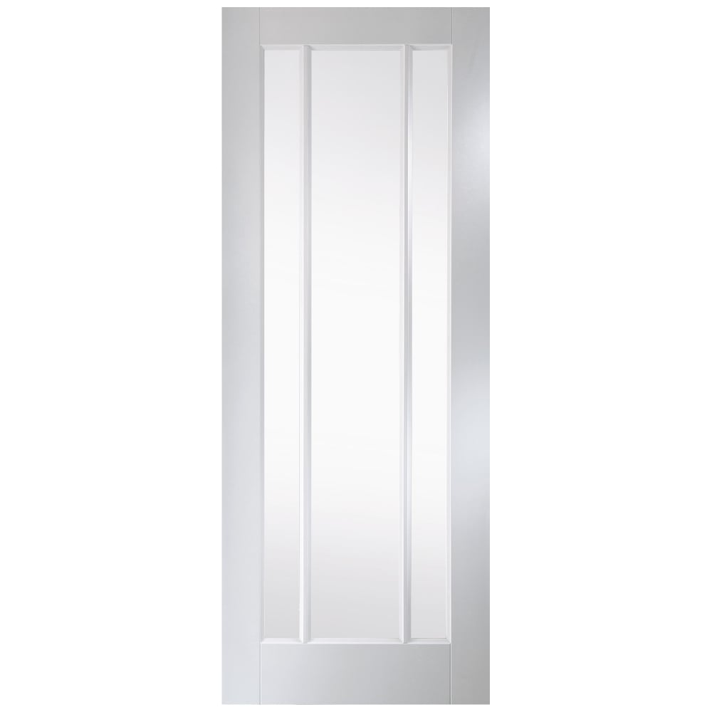 Jeld wen worcester white primed clear glass internal door - White doors with glass internal ...