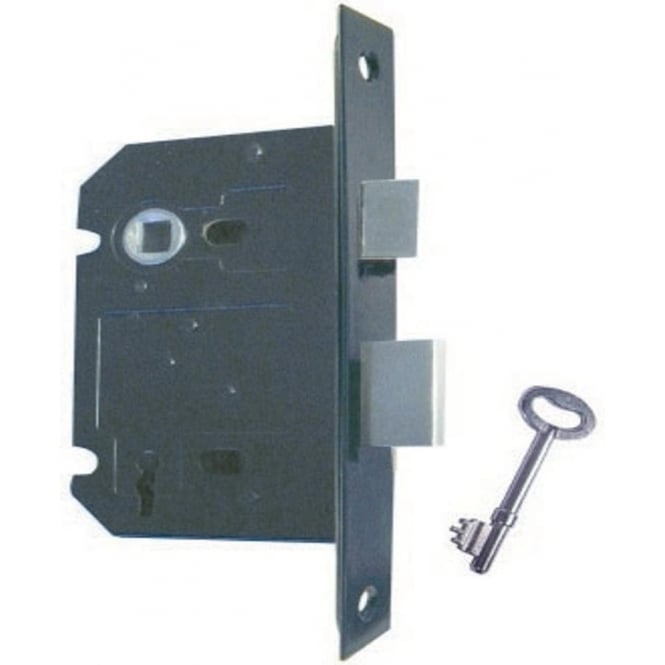 Frelan Hardware JL174BL Antique Black 3 Lever Mortice Sash Lock