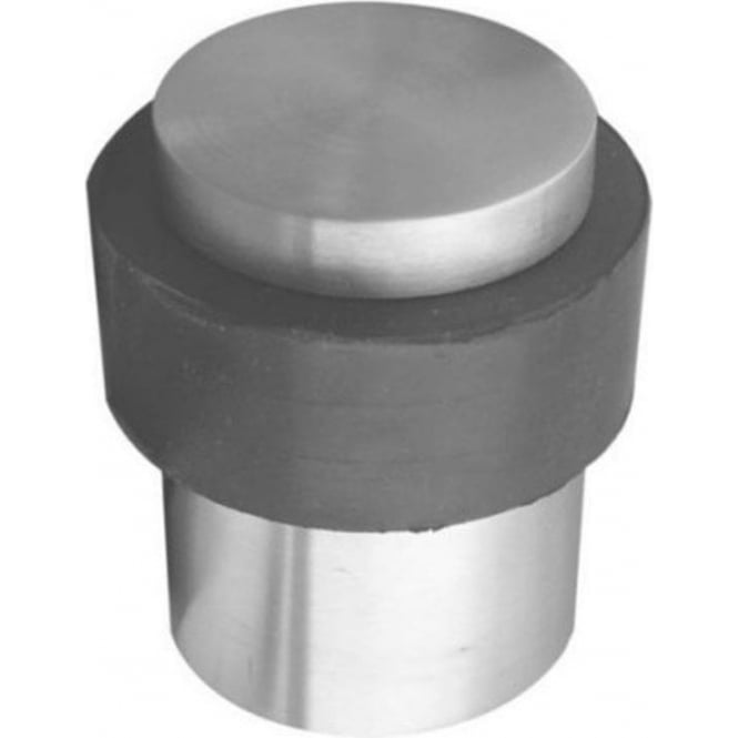 Frelan Hardware JPS06 Polished Stainless Steel Cylinder Door Stop
