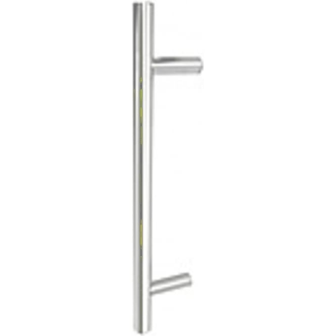 Frelan Hardware JPS219 Polished Stainless Steel Guardsman Pull Handle