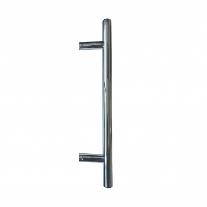 Frelan Hardware JPS222 Polished Stainless Steel Guardsman Pull Handle