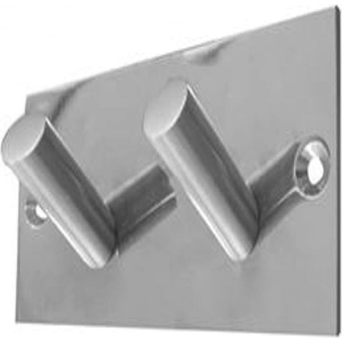 Frelan Hardware JPS901C Polished Stainless Steel Double Robe Hook