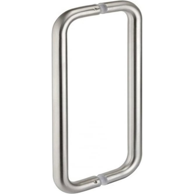 Frelan Hardware JSS120 Satin Stainless Steel D Shaped Pull Handle
