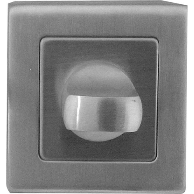 Frelan Hardware JSS54 Satin Stainless Steel WC Square Turn And Release