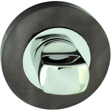 JV2666PCBN Polished Chrome/Black Nickel WC Turn And Release