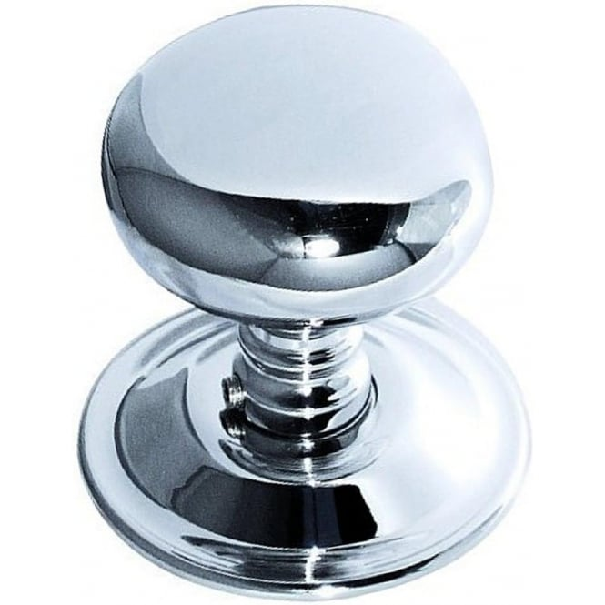 Frelan Hardware JV46PC Polished Chrome Mushroom Mortice Knob
