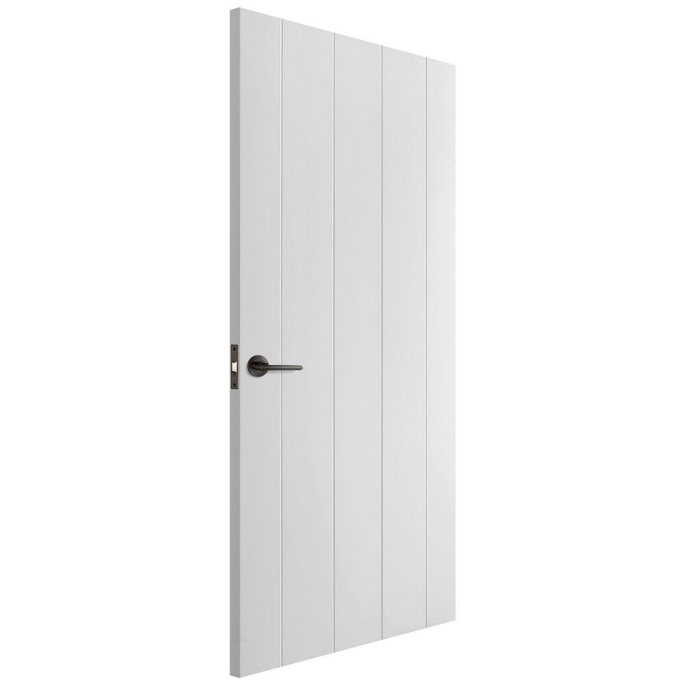 Liberty Doors White Moulded Cottage 5 Panel Fire Door