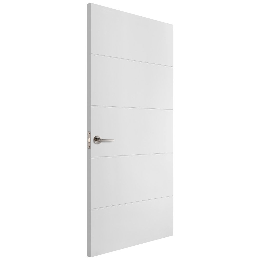 Liberty Doors Internal White Moulded Horizontal Door