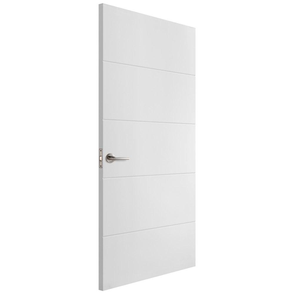 white door.  White Internal White Moulded Unfinished Horizontal Door Inside Leader Doors